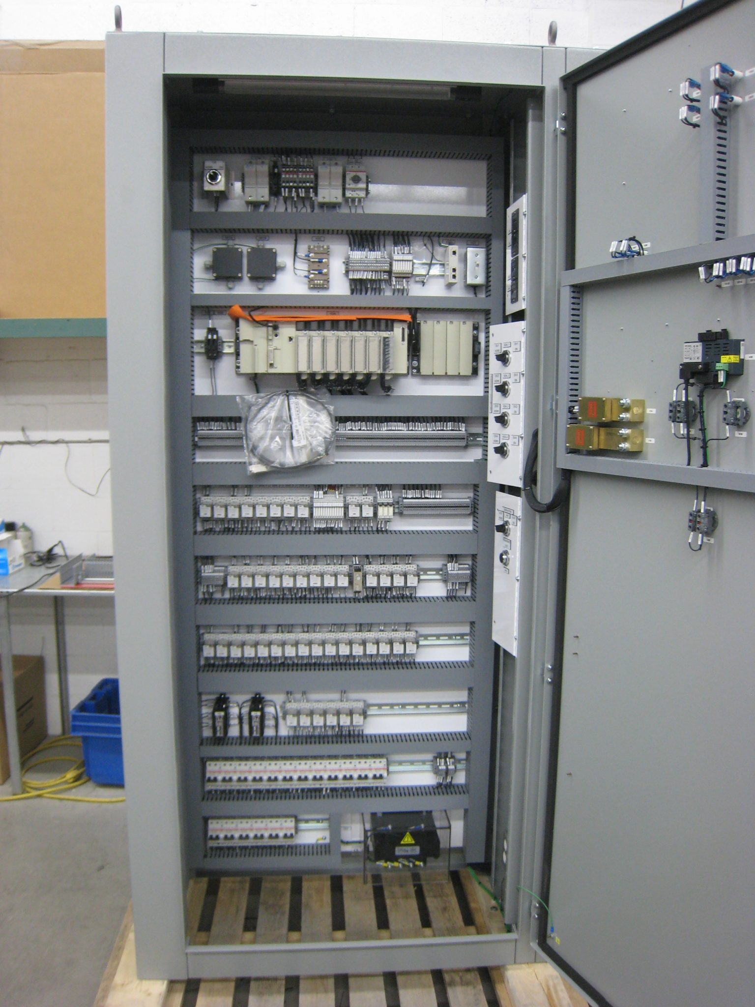 Project A5224A, A5286A & A5297A, Control Cabinet for transportation  industries