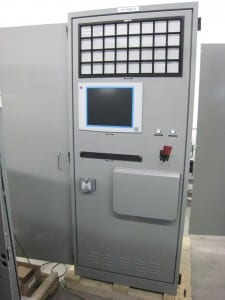 Control cabinet for nuclear central | Envitech Automation